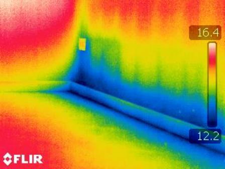 Termografia infrarosso indagini termografiche perizie - Risalita capillare ...